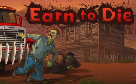 Давим зомби!! В игре - Earn to Die